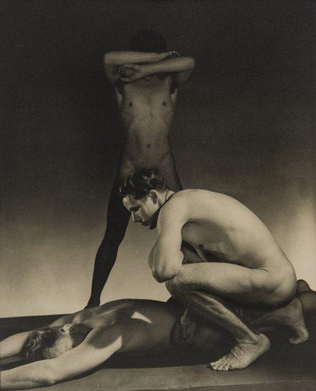 George Platt Lynes, Three Male Nudes
