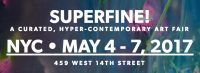 ClampArt exhibiting at Superfine! NYC, May 4-7, 2017