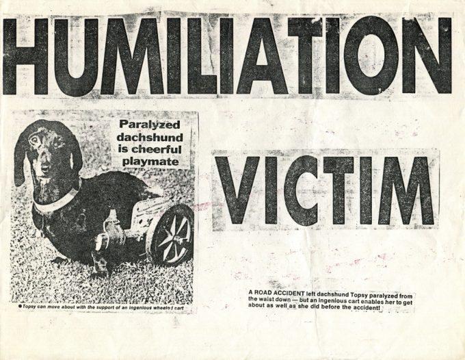 Keith Haring, Humiliation Victim, Xerox