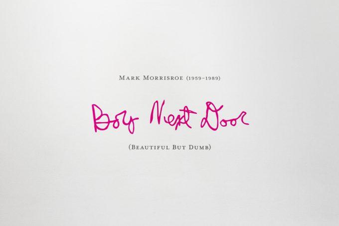 Mark Morrisroe, Installation Image VIII