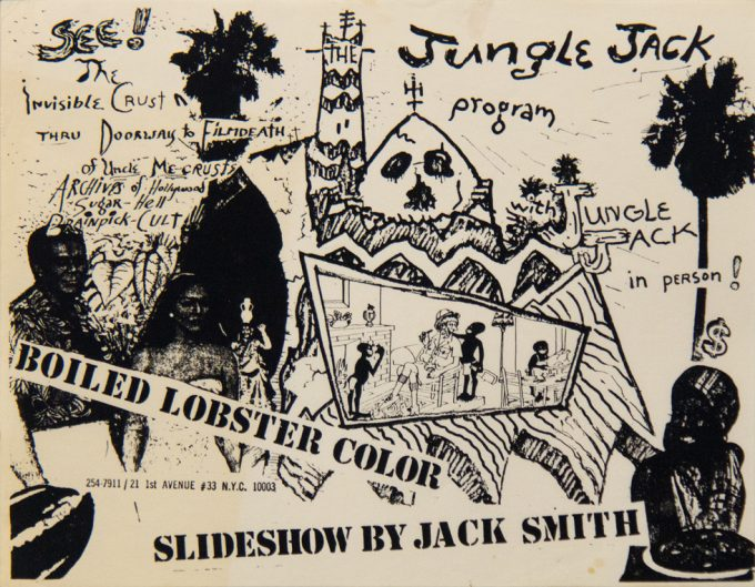 Jack Smith, Slideshow, Flyer