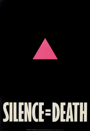 Gran Fury, Let the Record Show, Silence Equals Death, Poster