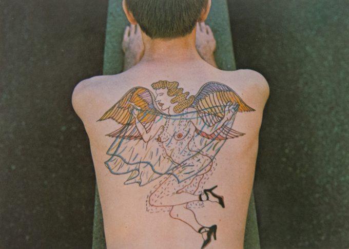 Stanley Stellar, Ethyl Eichelberger back tattoo