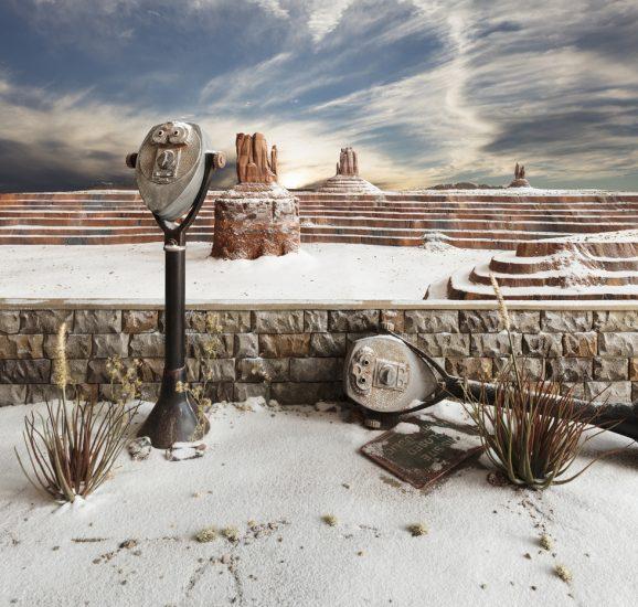 Lori Nix/Kathleen Gerber, Winter Monument
