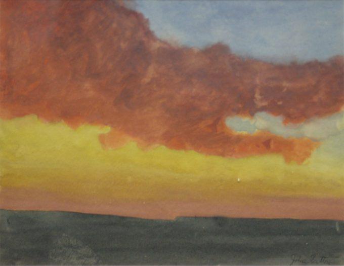 John Button, Sunset #1