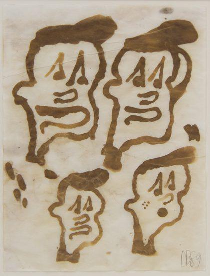 Donald Baechler, Untitled