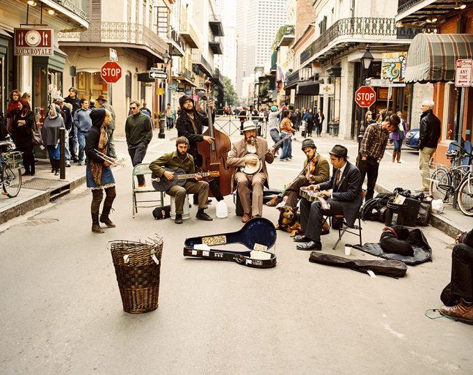 Palmer Davis, Street Musicians