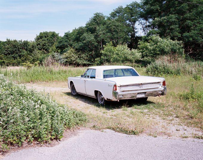 Palmer Davis, White Car