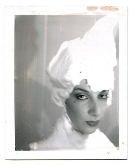 Mark Morrisroe, Janet With Soap Wig