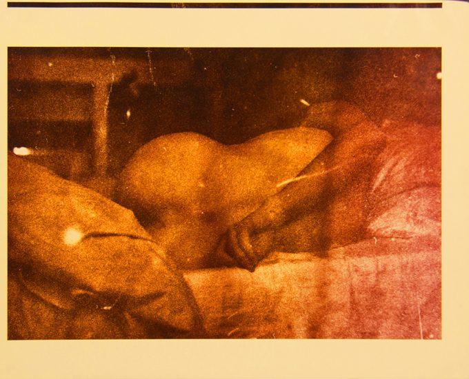 Mark Morrisroe, Self Portrait in the Home of a London Rubber Fetishist