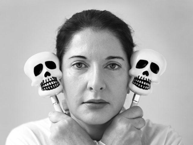 Marina Abramovic, Self Portrait with Maracas, New York