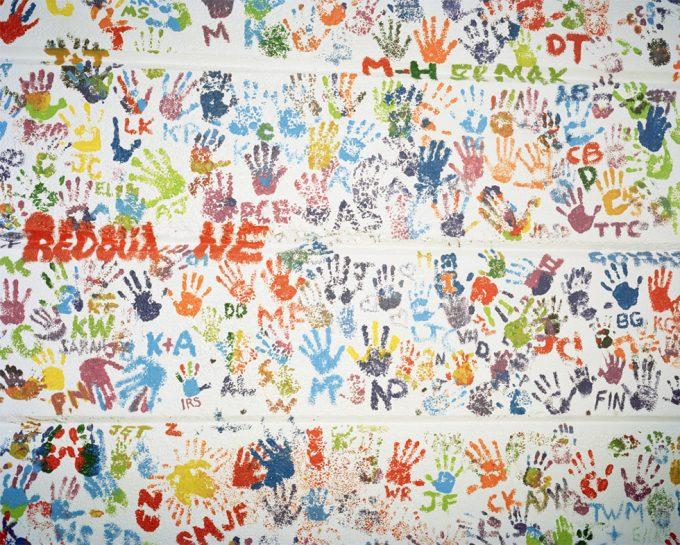 Nicholas Bridges, Untitled (Handprints)