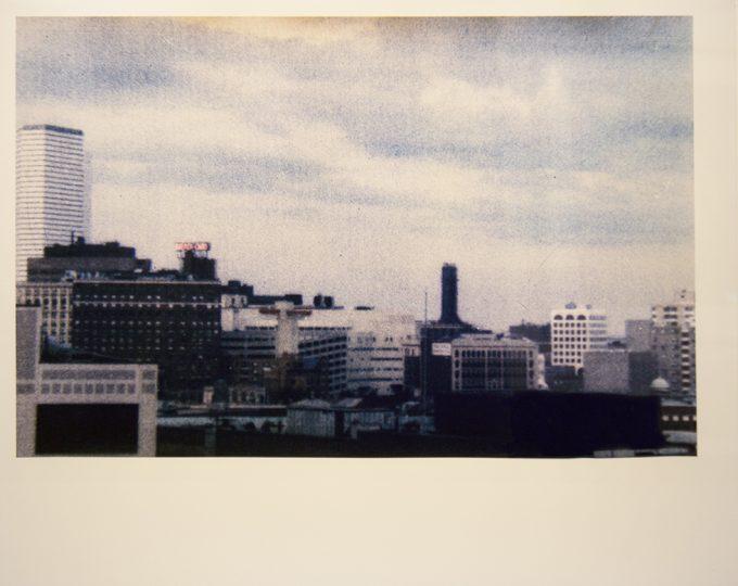 Mark Morrisroe, Dismal Boston Skyline, 1986