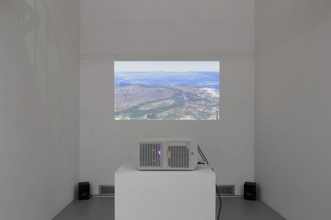 Jiehao Su, A Storm in the Morning, Installation View