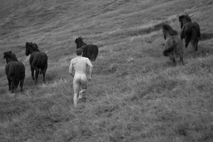 Nick Turner, Untitled (Running with Horses)