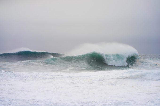 Nick Turner, Untitled (Wave Break #2)