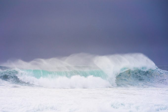 Nick Turner, Untitled (Wave Break #5)