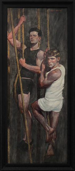 Mark Beard, [Bruce Sargeant (1898-1938)] Two Friends Learning the Ropes