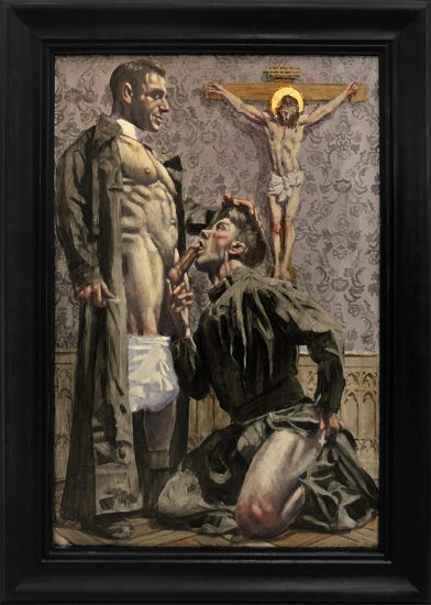 Mark Beard, [Bruce Sargeant (1898-1938)] Two Priests Alone in Their Room (NSFW)