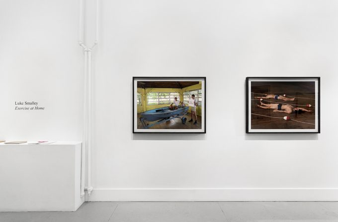 Luke Smalley, Exercise at Home, Installation Image I