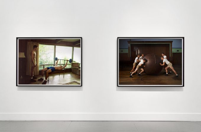 Luke Smalley, Exercise at Home, Installation Image V