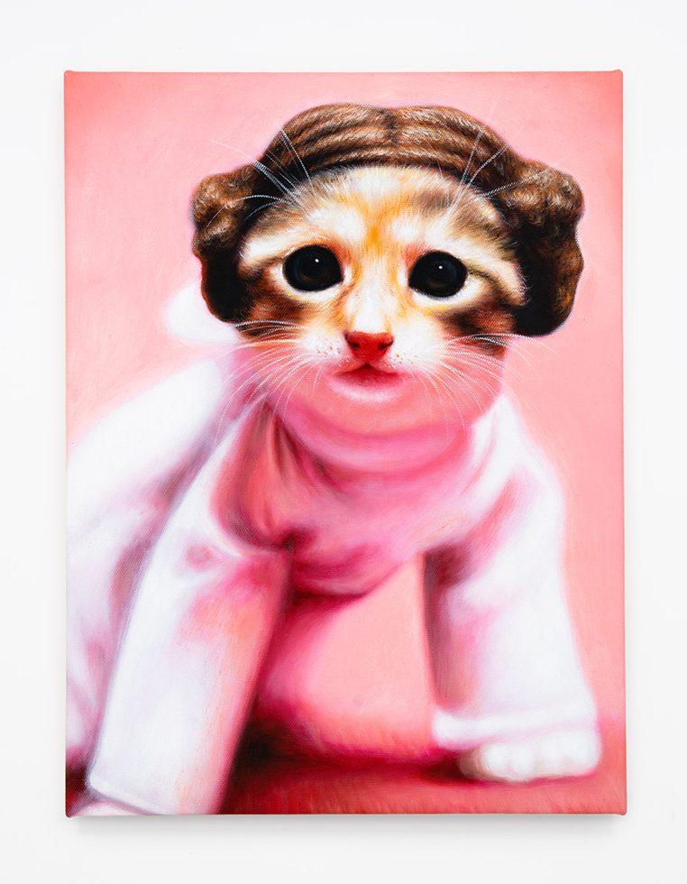 Princess Leia Kitty (Cinnamon Tabby)