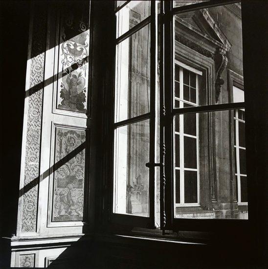 Bruce Cratsley, Louvre Window, Paris