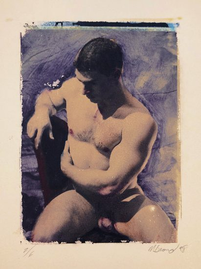 Mark Beard, Untitled (Man Seated on Chair)