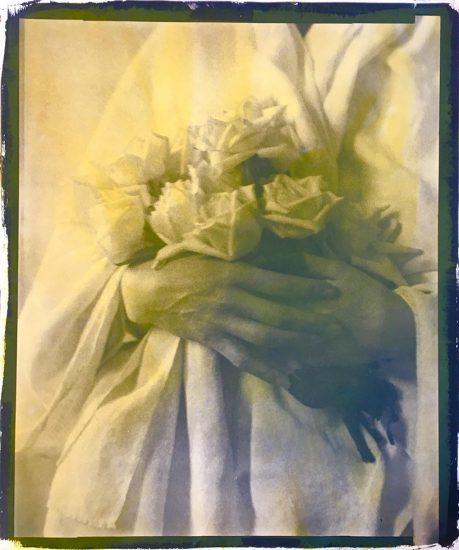 McDermott & McGough, Portrait of Jacqueline Schnabel (Hands with Roses), 1915