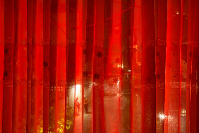 Pipo Nguyen-duy, Couple Behind Curtain