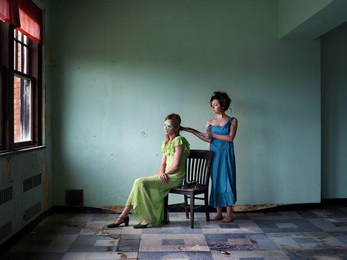 Lissa Rivera, Transference (Green Classroom)