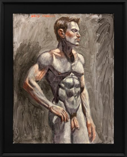 Mark Beard, [Bruce Sargeant (1898-1938)] Male Nude Facing Right